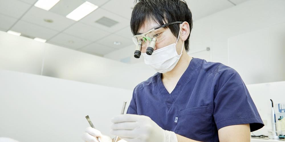 虫歯の保存治療